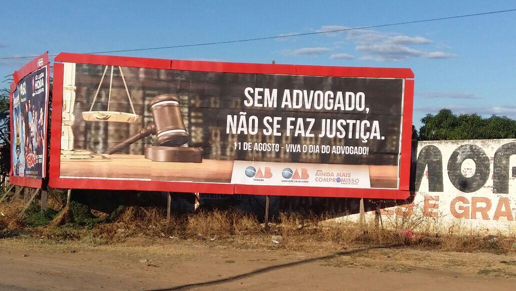 Oab Cajazeiras Faz Campanha Para Valorização Da Advocacia Blog Do