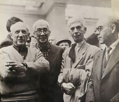 Picasso Fujita Zadkine y Juan Navarro Ramón
