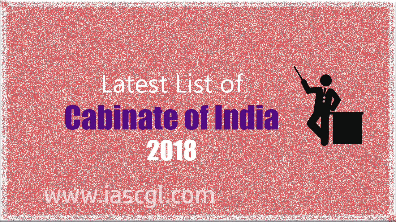 List of Cabinet of Ministers of India 2017
