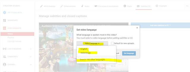 Cara Mudah Membuat Subtitle Video Di Youtube