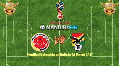 AGEN BOLA - Prediksi Kolombia vs Bolivia 24 Maret 2017