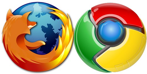 Mozilla-Firefox-Google-Chrome
