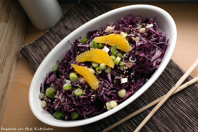 Rotkohlsalat, Saisonal, Salate, Rotkohl