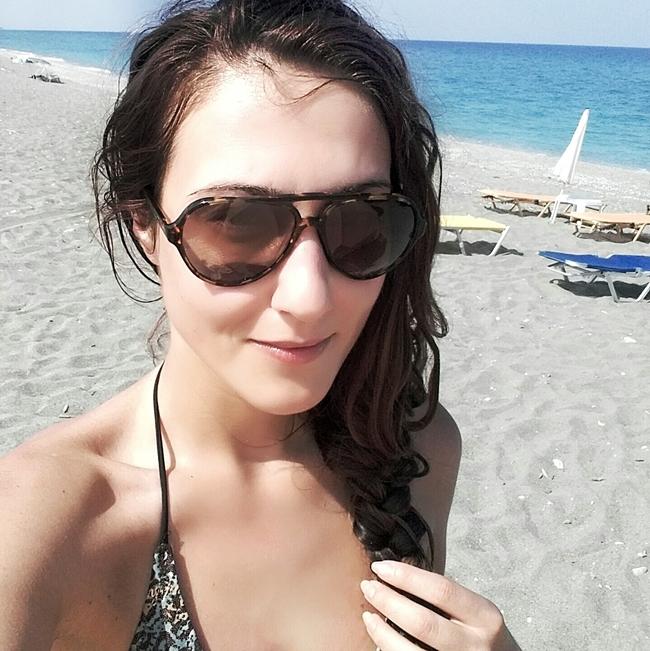 Jelena Zivanovic Instagram @lelazivanovic.Glam fab week.Sundried sunglasses.Velika Agiokampos.