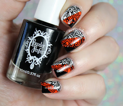 Powder Perfect Black Stamping Polish