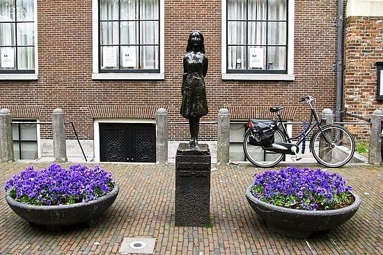 Anne Frank em Amsterdam