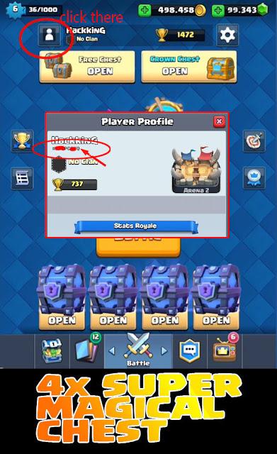 Cara Mudah Dapatkan Super Magical Chest Gratis Clash Royale