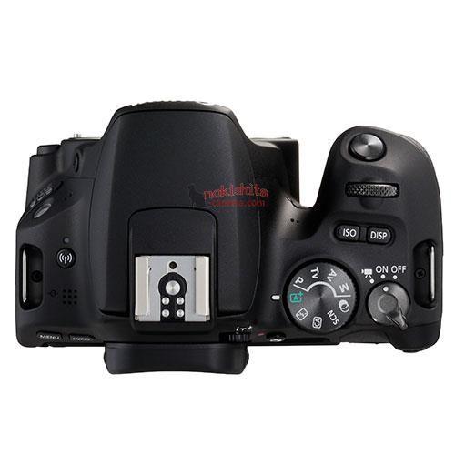 Canon EOS 200D, вид сверху