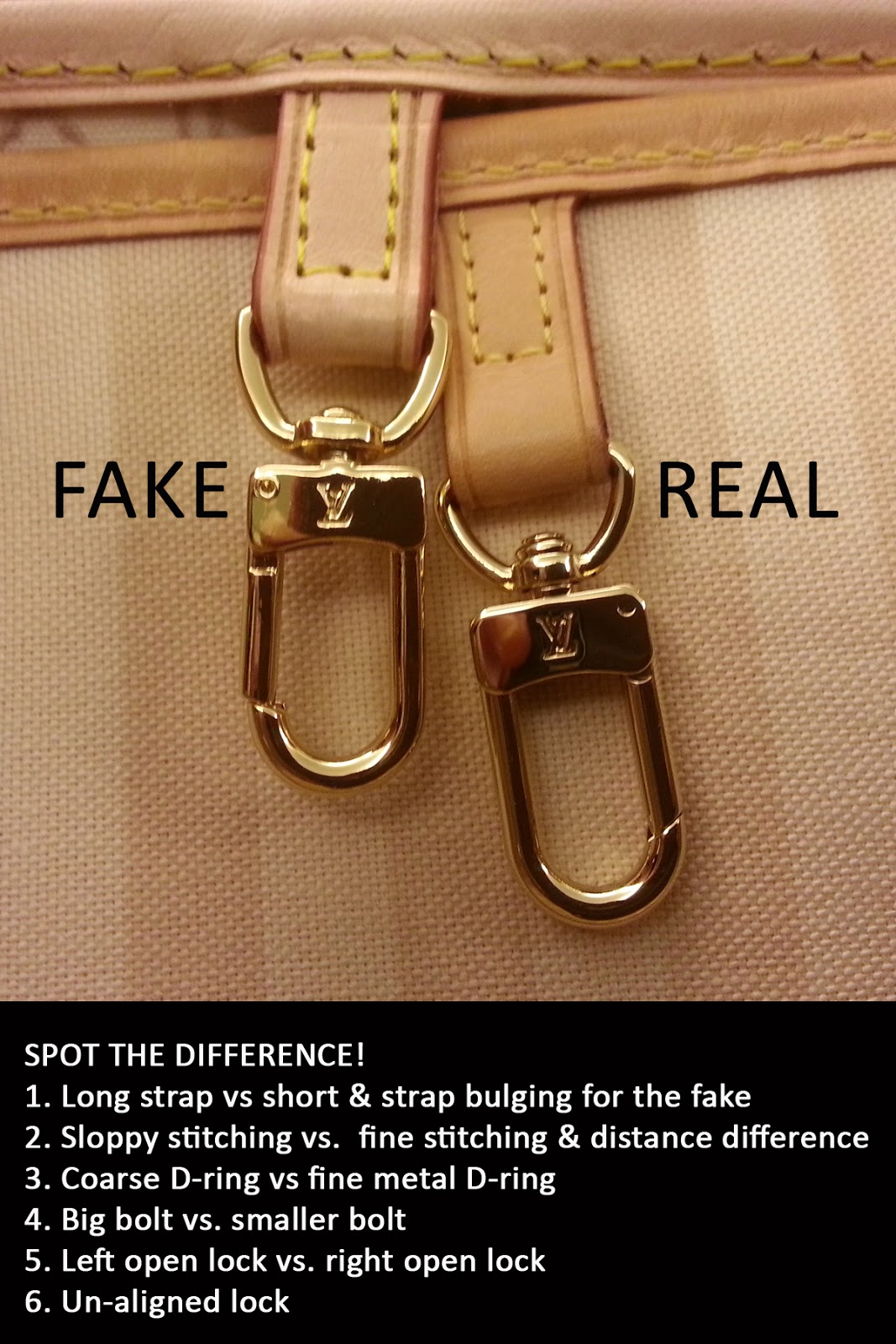 Letter from a Reader  Beware of Sellers of Fake Louis Vuitton Bags. Images  courtesy of Fashion PULIS reader 01f15dd6e8dfe