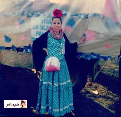Bolso flamenco de flecos Rocío. Pikapic