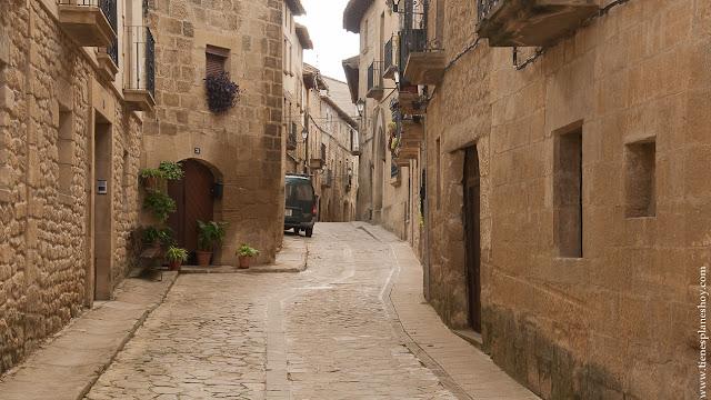 calles Uncastillo pueblo encanto Zaragoza