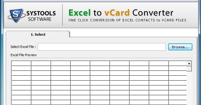 free download systools excel to vcard converter