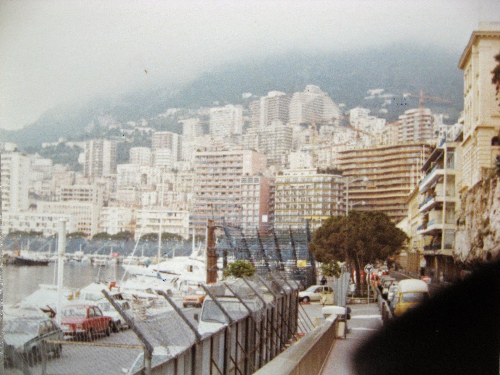 Monte Carlo, Monaco 1983 days before the Grand Prix