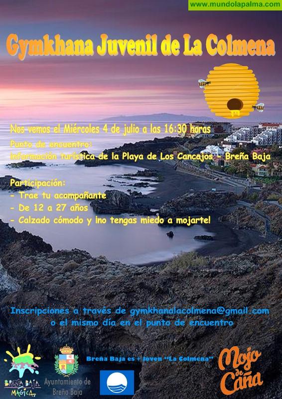 LA COLMENA: Gymkhana Juvenil en el Playa de Los Cancajos