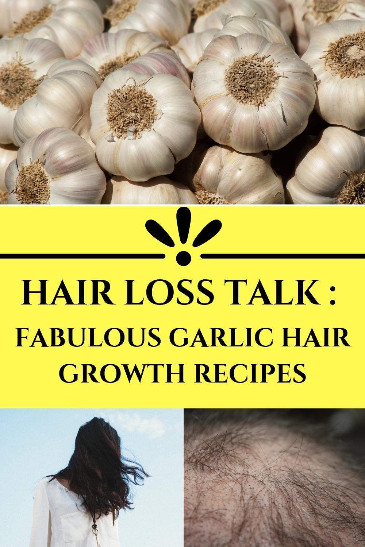 Nora Beauty And Health Hair Loss Talk Fabulous Garlic Hair Growth