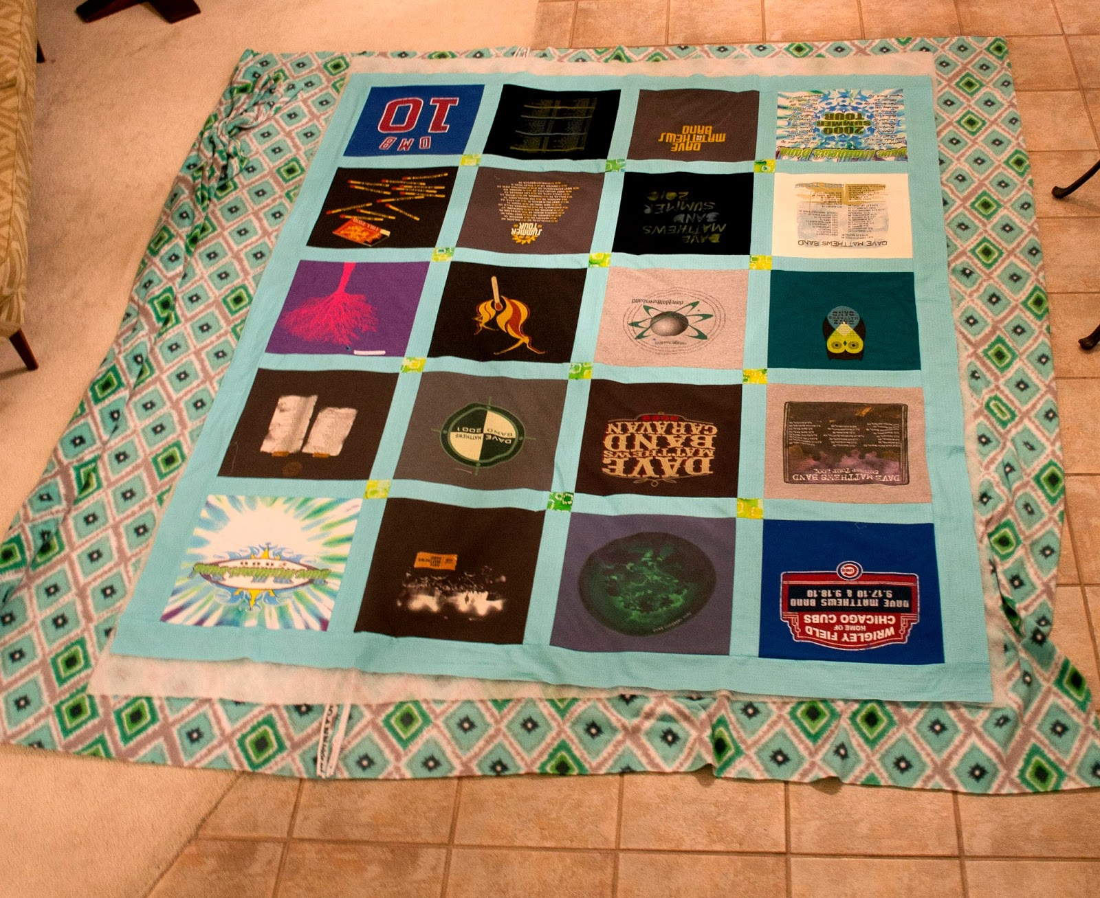 Making Quilt Out Old Clothes