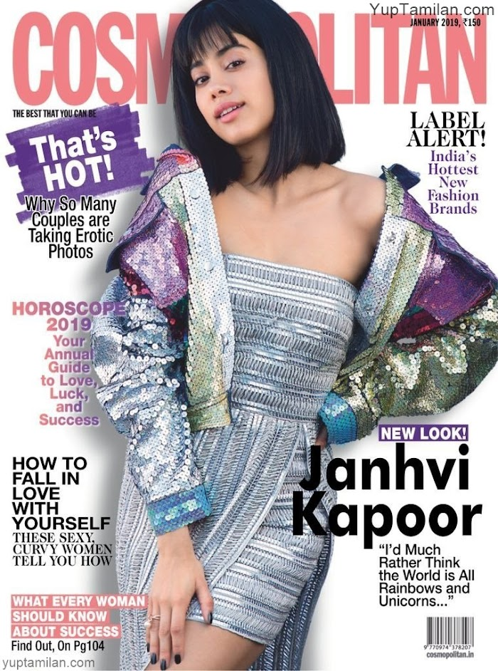 Cosmopolitan Magazine January 2019 featuring Janhvi Kapoor-PDF download