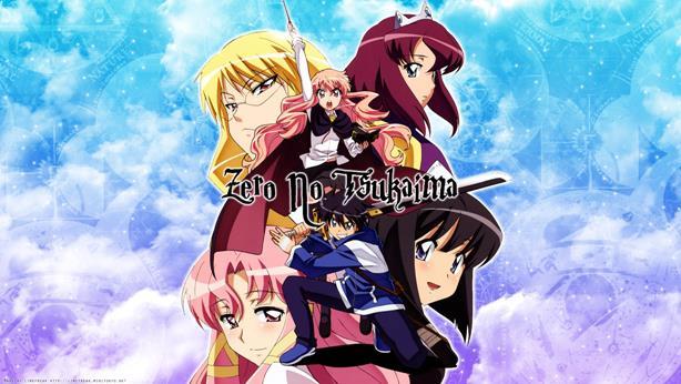 Zero no Tsukaima - Daftar Anime Fantasy School Terbaik