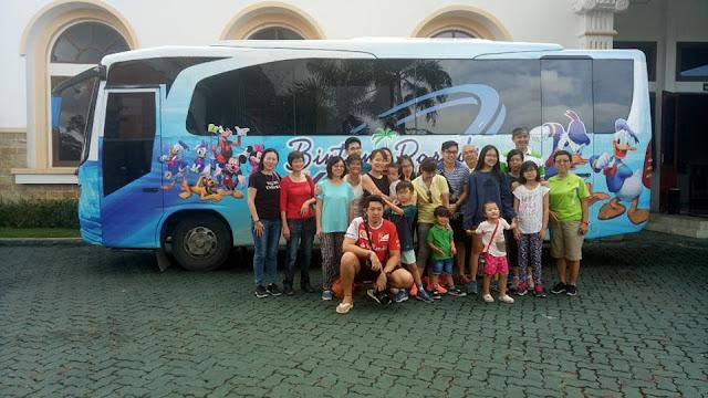 Sewa Bus Lagoi Bintan