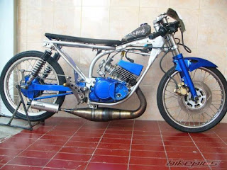 modifikasi rx king crom drag style