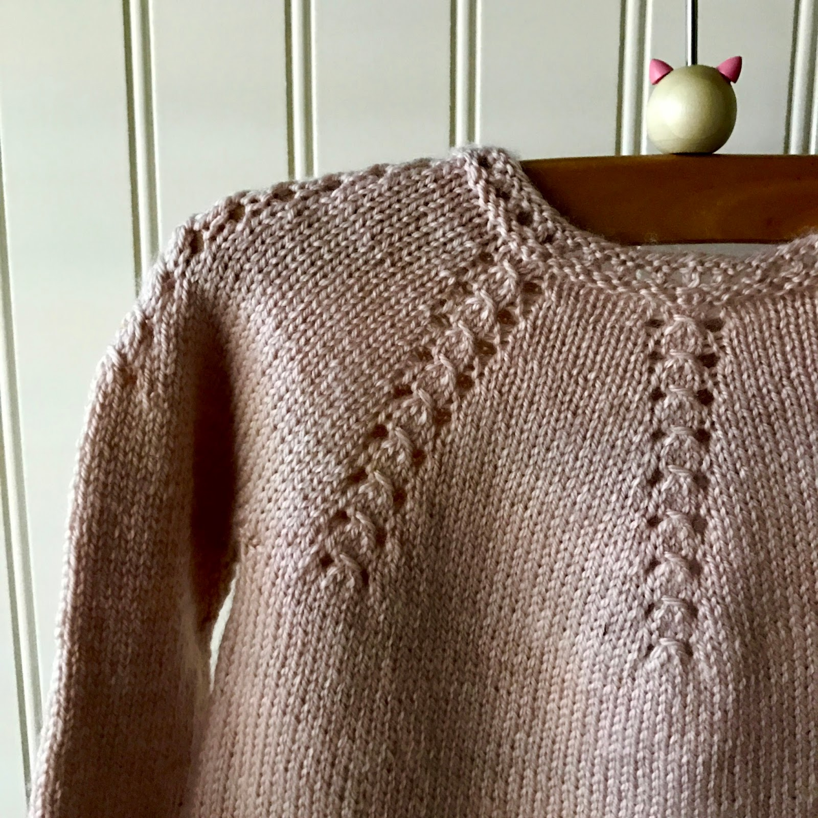 710854b63 baby cardigan from Little French Knits - Knitionary