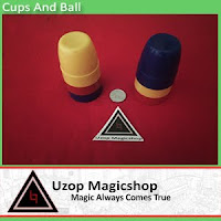 Jual alat sulap Cups and ball