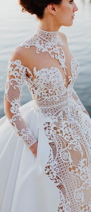 Amazing-wedding-crochet-gown-