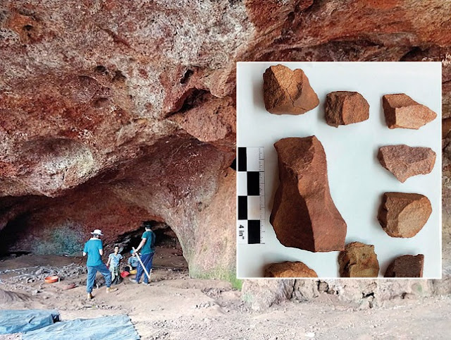52,000-year-old stone tools found in western India cave site