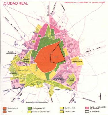 Blog de geograf a del profesor juan mart n mart n ciudad - Plano de ciudad real ...
