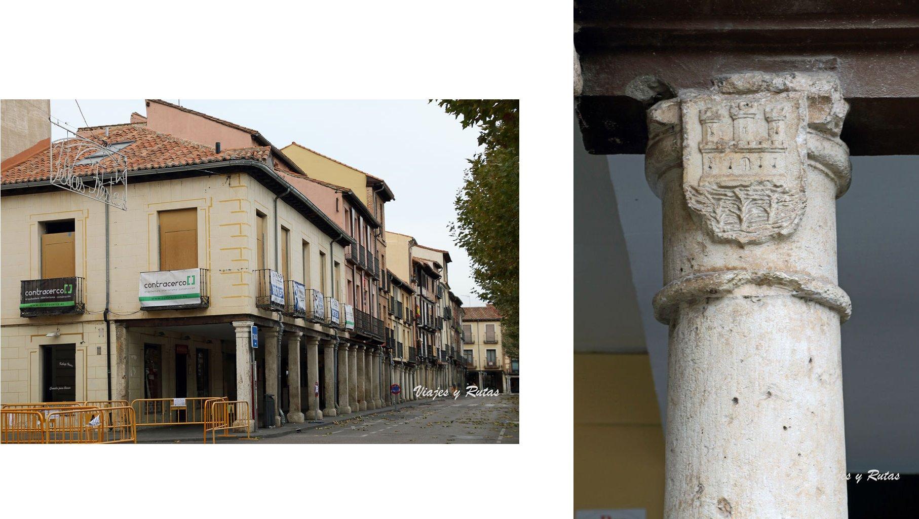 Casas del concejo y escudo de Alcalá de Henares