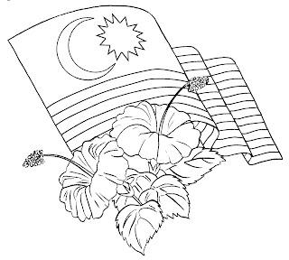 Lukisan Gambar Bendera Malaysia Cikimm Com