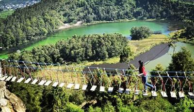 wisata jembatan dieng