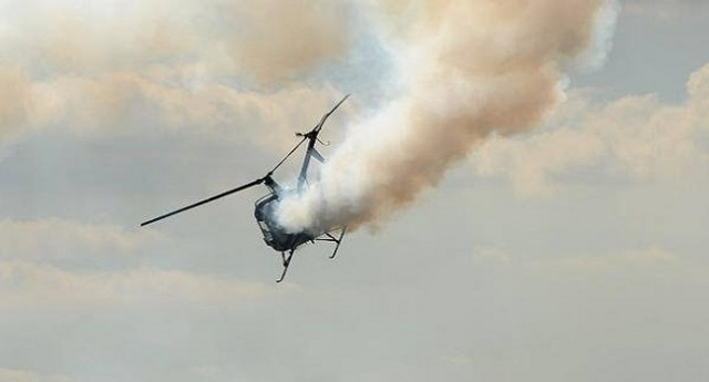 helicopter explosion lagos