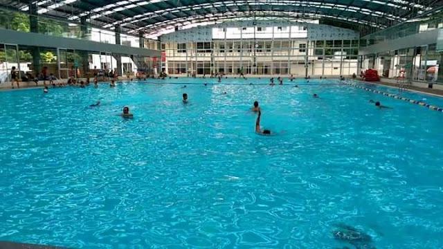 Bể bơi bốn mùa chung cư Thanh Hà
