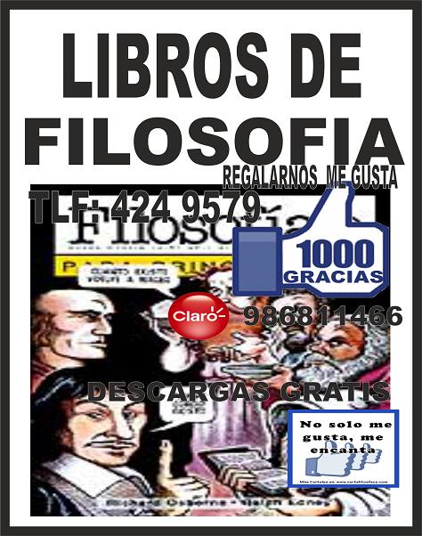 Decida Triunfar: DESCARGAR LIBROS DE Filosofia GRATIS @tataya.com.mx