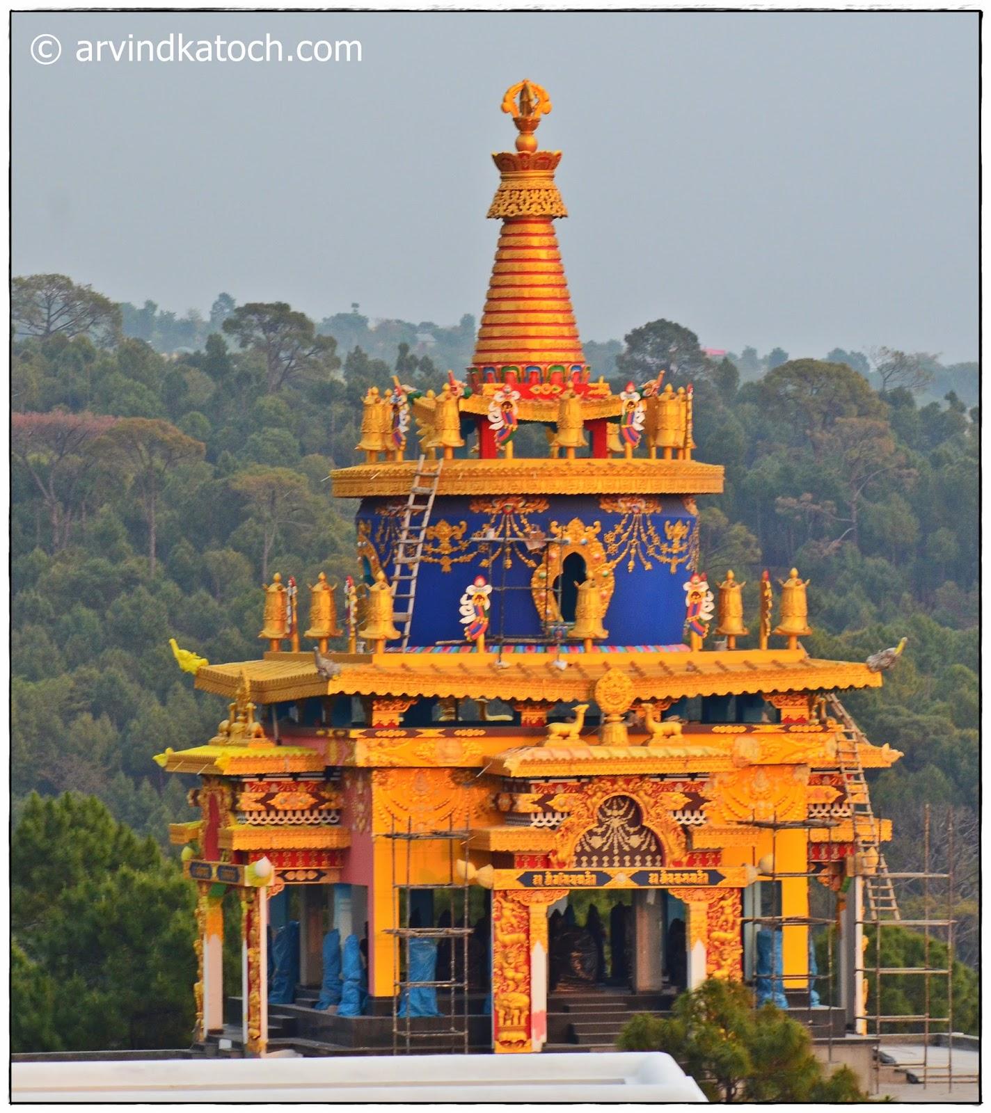 Buddhist Temple, Bhattu, Baijnath, Himachal Pradesh