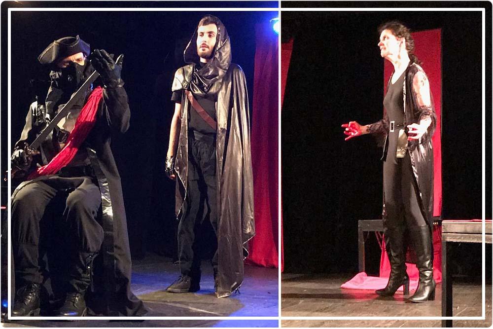 Comédiens de la pièce Macbeth (s) (crédit Who's Afraid compagnie )