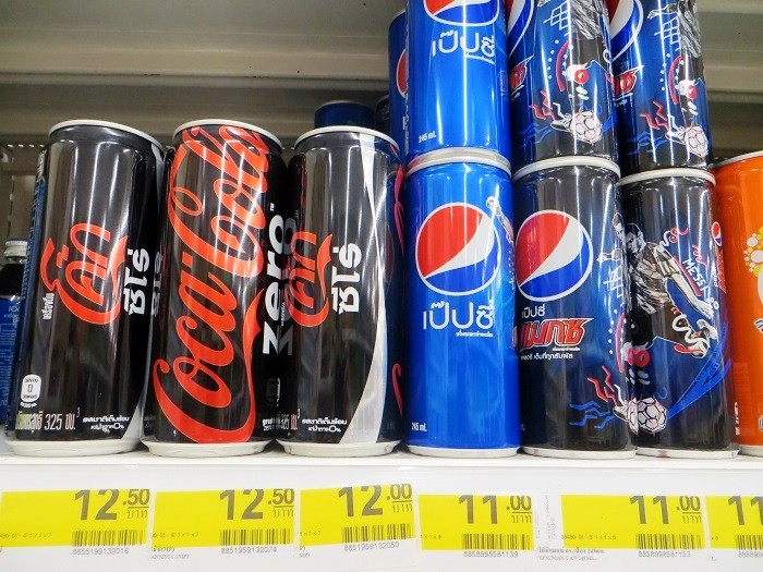 Zero Cola Thailand