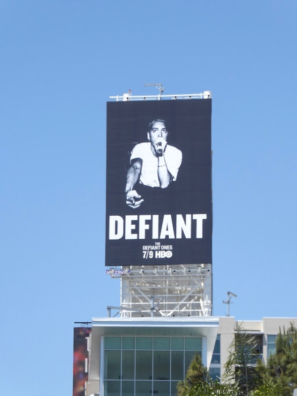 Eminem Defiant Ones billboard