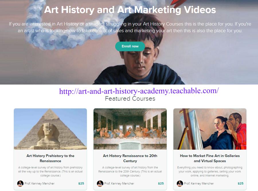 http://art-and-art-history-academy.teachable.com/