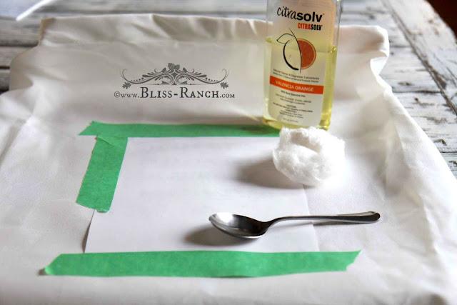 Citrasolv Transfer Method, Bliss-Ranch.com
