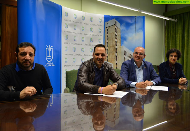 El Cabildo financia un proyecto del Centro Destiladera para la inclusión sociolaboral de personas con discapacidad