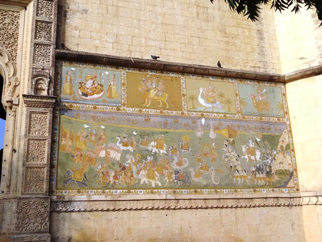 Paintings in Jaipol Mehrangarh Fort - History and Architecture
