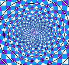 Spirala, złudzenie optyczne, co symbolizuje spirala, nieskończoność, rozwój, początek, podróż