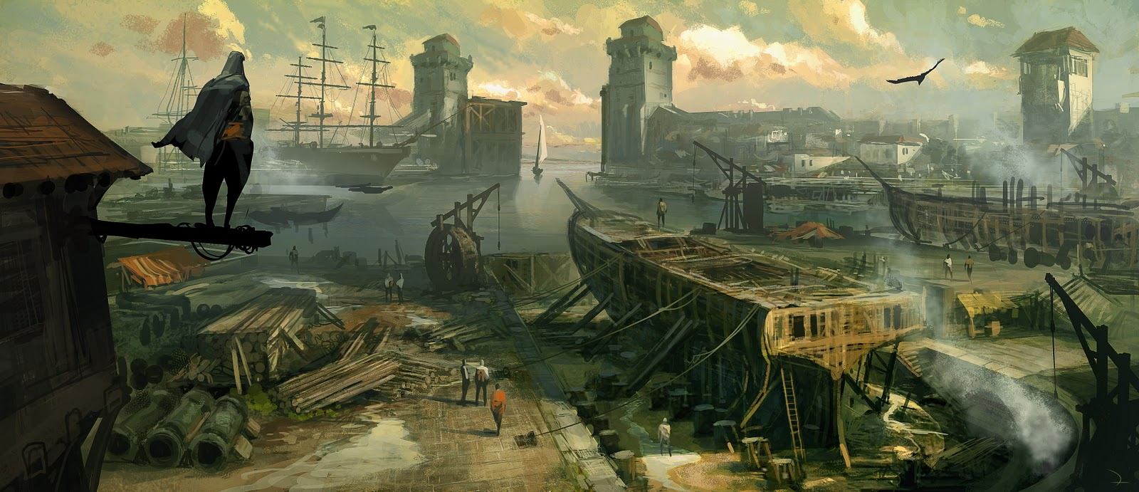Concept Art de Assassin's Creed Revelations