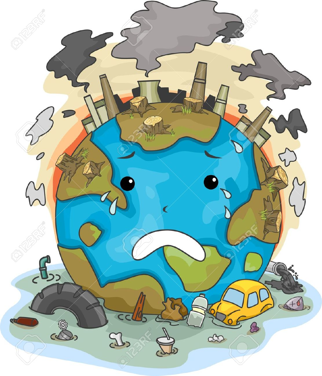 We are destroying our planet essay