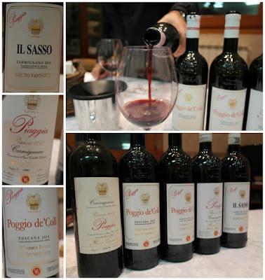 vini piaggia carmignano
