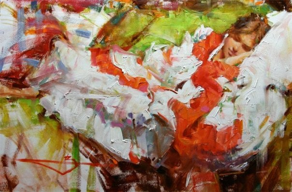 Kevin Beilfuss 1963 | American Impressionist Figurative painter