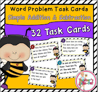 Bee Word Problems for Simple Facts