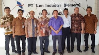 lowongan kerja pt len industri
